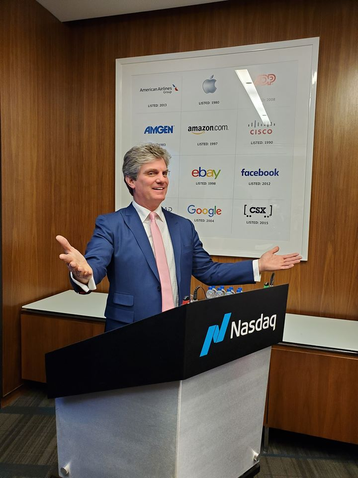 Gary Wilson Speaking at NASDAQ