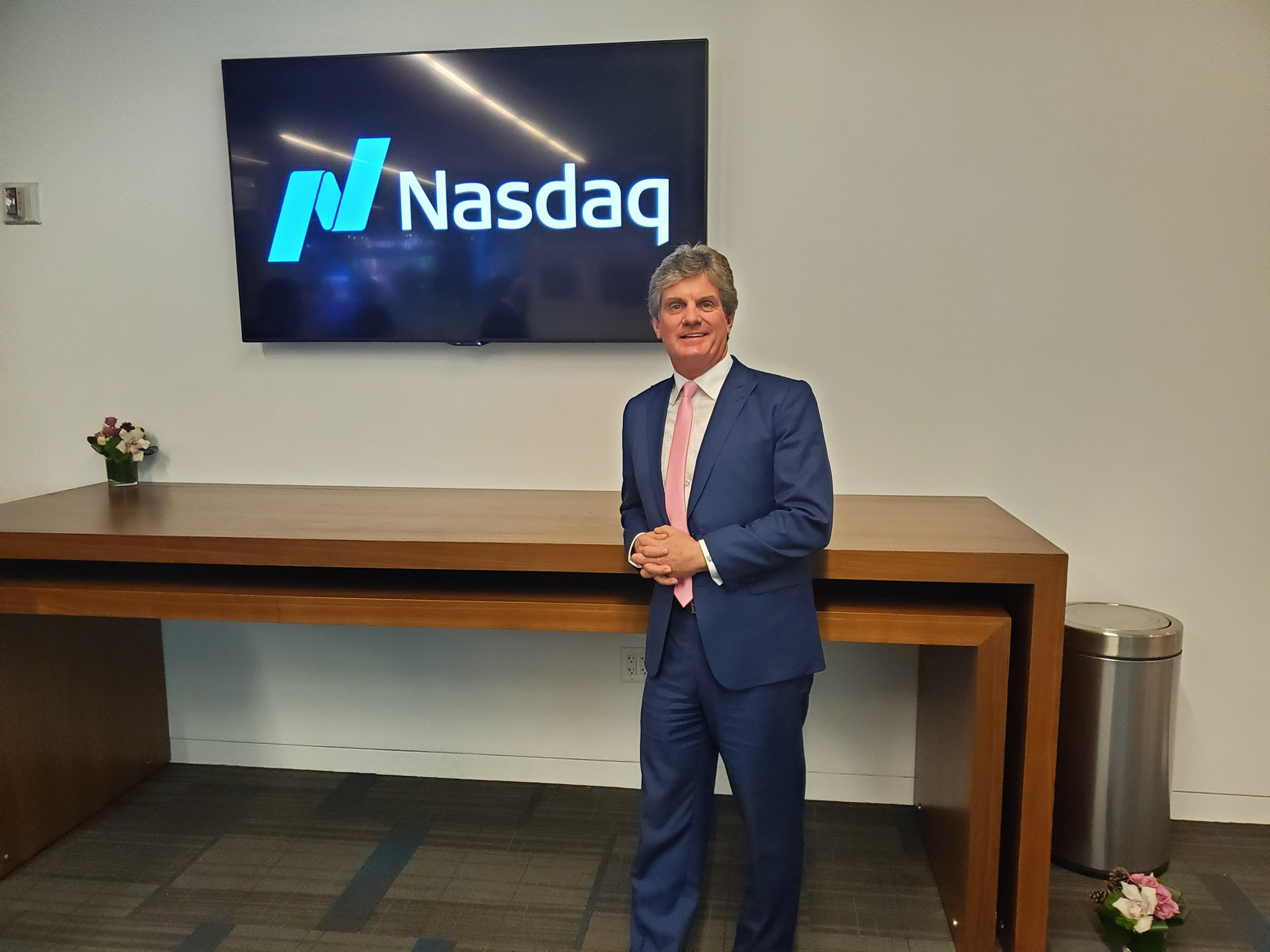 Gary Wilson speaks at NASDAQ