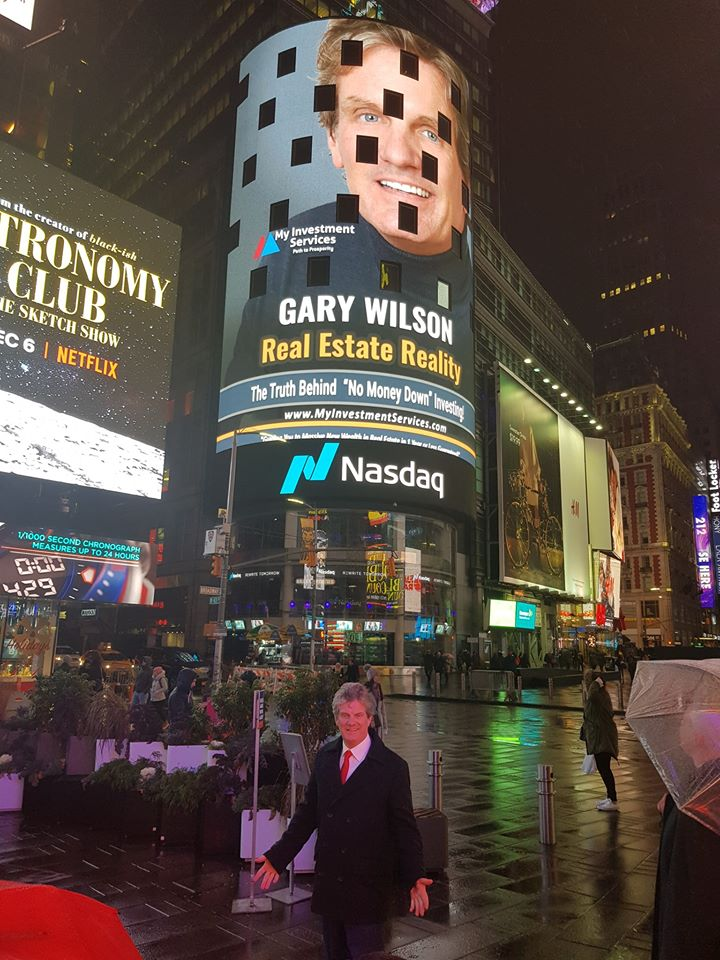 Gary Wilson New book on nasdaq building